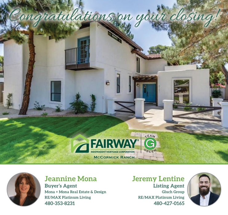 Liddle Congratulations on yourclosing