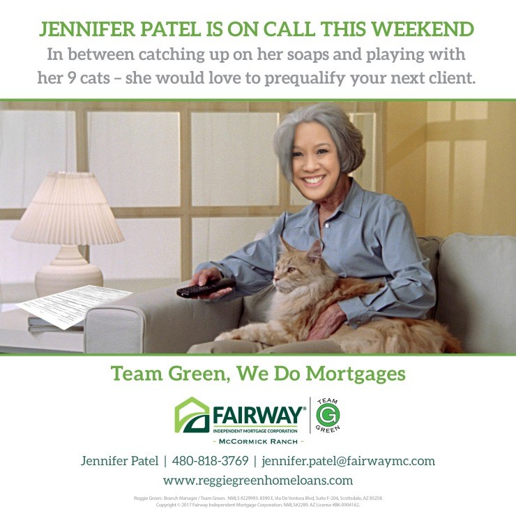 Jennifer Patel is On call this weekend