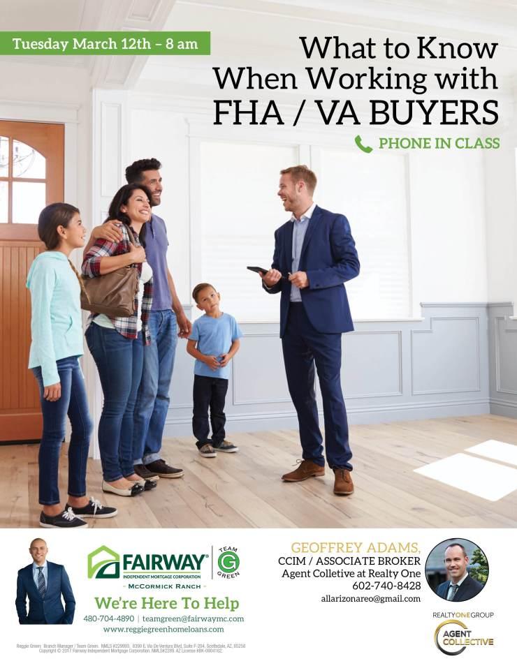 FHA – VA Buyers Class for AgentCollective